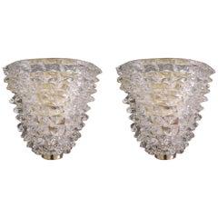 Pair of Rostrato Sconces by Fabio Ltd