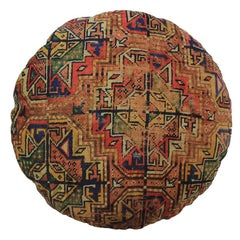 Pair of Round Decorative Persian Accent Pillow