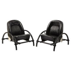 """Pair of """"Rover"""" Chairs by Ron Arad, UK, 1980's"""
