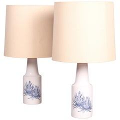 Pair of Royal Copenhagen Table Lamp