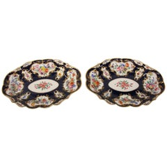 Pair of Royal Worcester Oval Dishes