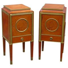 Pair of Russian Baltic Style Nightstands