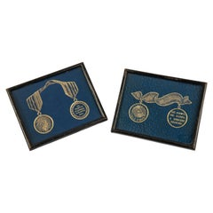 Pair of Russian Mementos of the Napoleonic War, Dated 1812, 1814