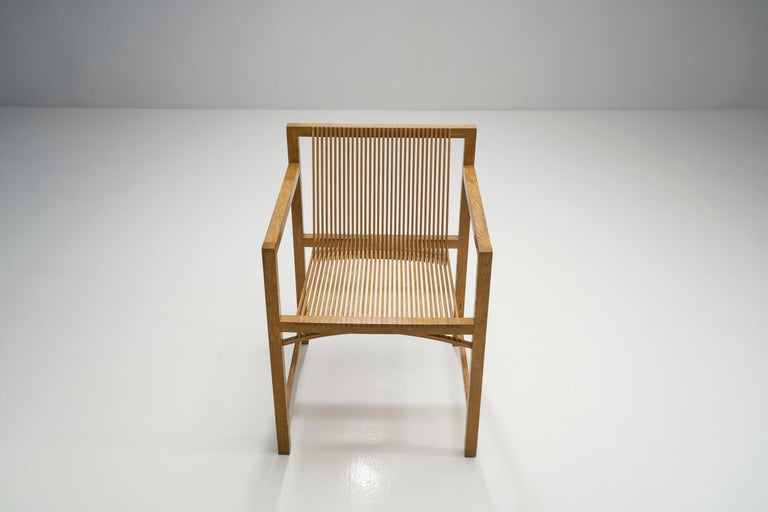 Pair of Ruud-Jan Kokke Slat Chairs, the Netherlands, 1986 For Sale 3