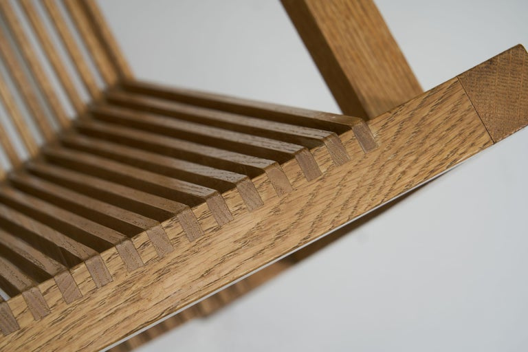 Pair of Ruud-Jan Kokke Slat Chairs, the Netherlands, 1986 For Sale 10