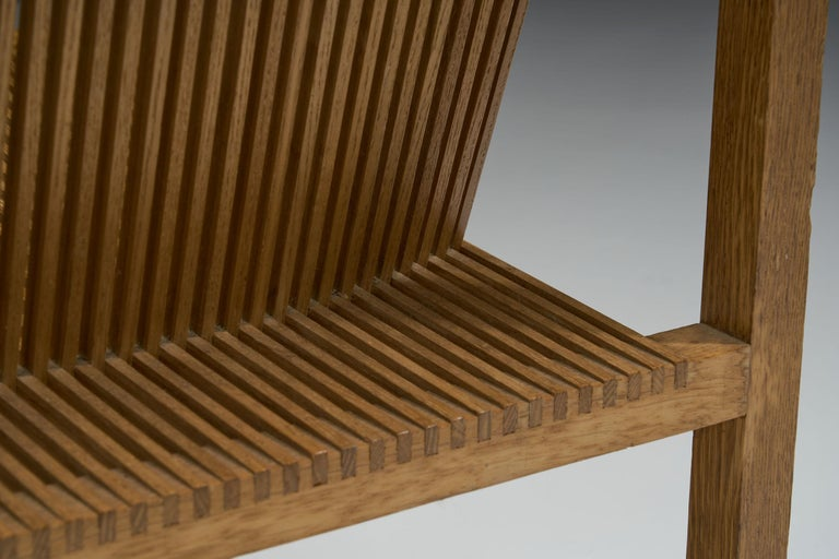 Pair of Ruud-Jan Kokke Slat Chairs, the Netherlands, 1986 For Sale 11