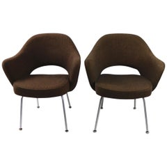 Pair of Saarinen for Knoll Executive Chairs for IBM