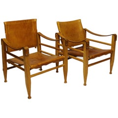 Pair of Safari Chairs, by Aage Bruun and Son, 1960s