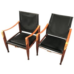 Pair of Safari Chairs by Kaare Klint, 20th Century