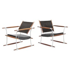 Pair of Safari Chairs in Rosewood by Jens Quistgaard