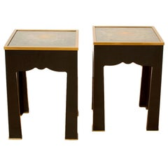 Pair of Salon Side Tables, Contemporary