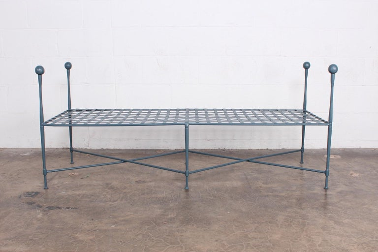 Mid-20th Century Pair of Salterini Benches For Sale