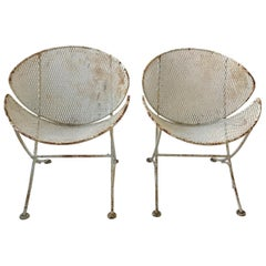 Pair of Salterini Clam Shell Chairs