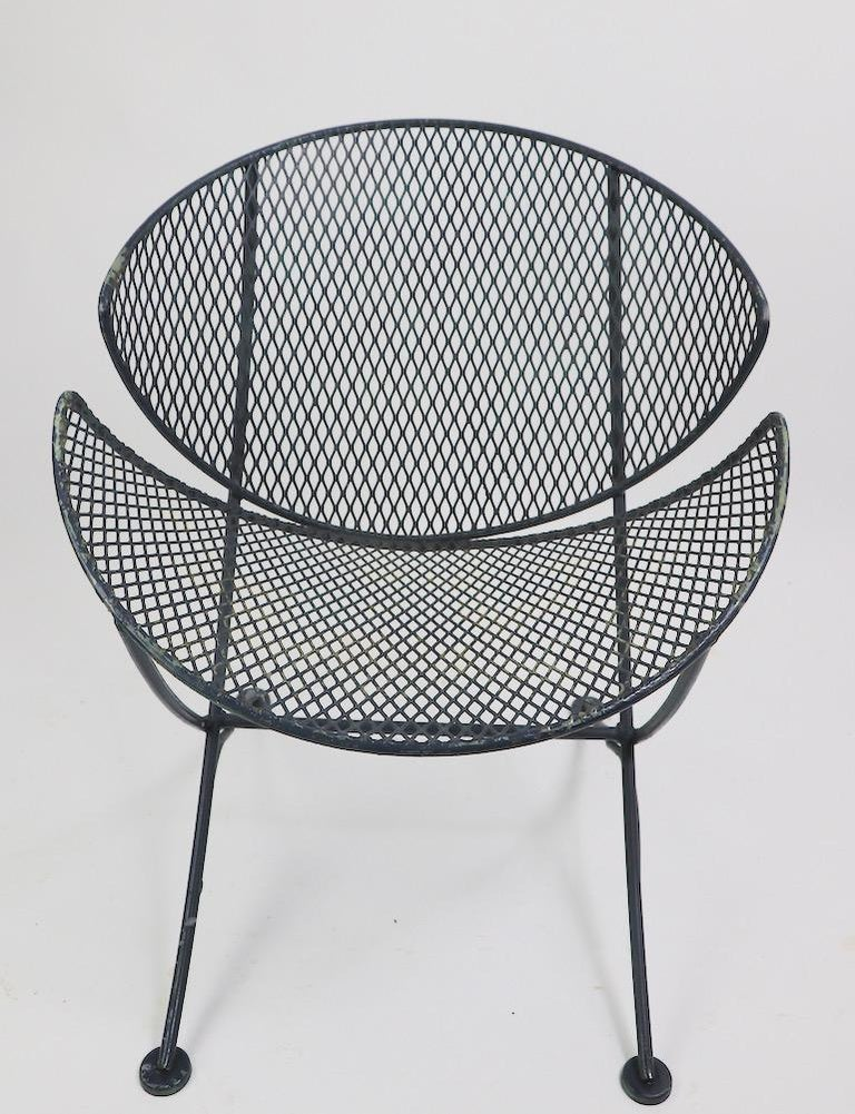 Pair of Salterini Clamshell Lounge Chairs For Sale 3