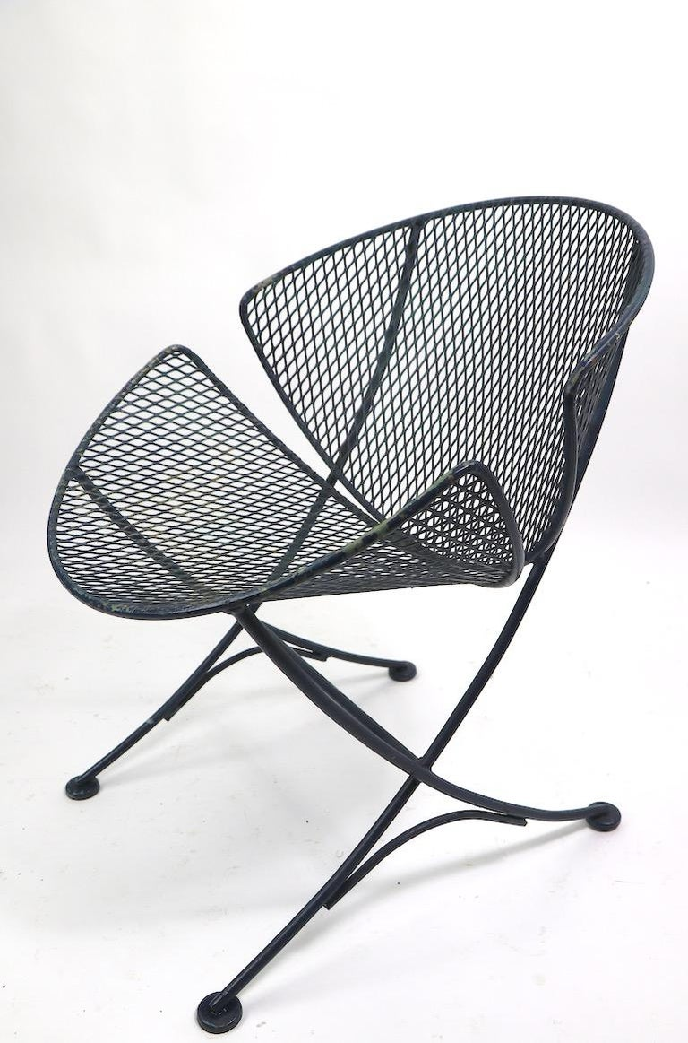 Pair of Salterini Clamshell Lounge Chairs For Sale 4