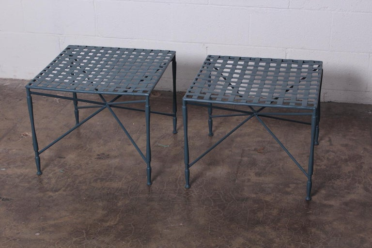 Pair of Salterini tables In Good Condition For Sale In Dallas, TX