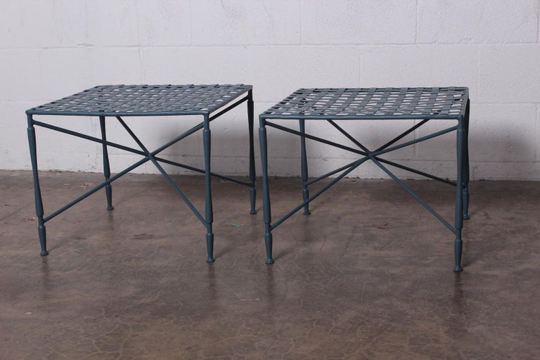 Mid-20th Century Pair of Salterini tables For Sale