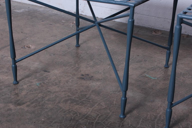 Pair of Salterini tables For Sale 2