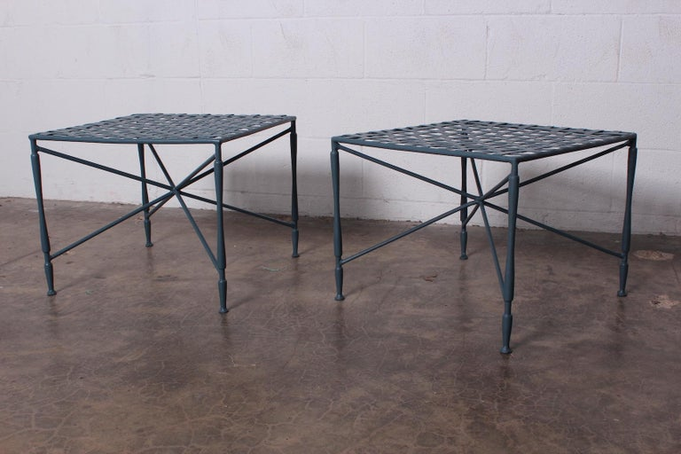 Pair of Salterini tables For Sale 3