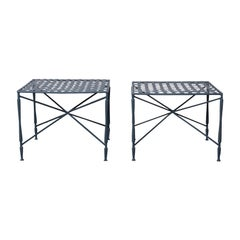 Pair of Salterini tables