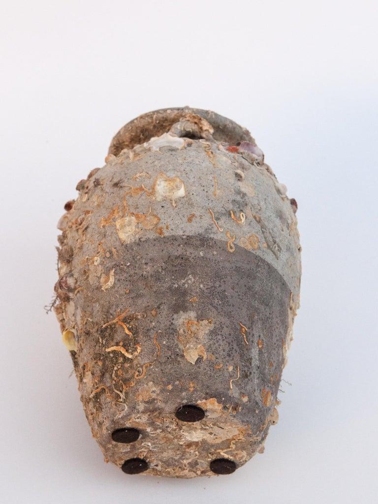 Pair of Sawankhalok Jars with Encrustations, Sawankhalok, Thailand, 15th Century For Sale 4