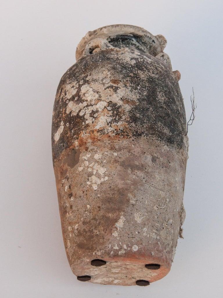 Pair of Sawankhalok Jars with Encrustations, Sawankhalok, Thailand, 15th Century For Sale 12