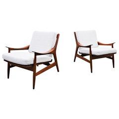 Pair of Scandinavian Armchairs, 1960s