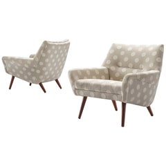 Pair of Scandinavian Easy Chairs, circa 1960