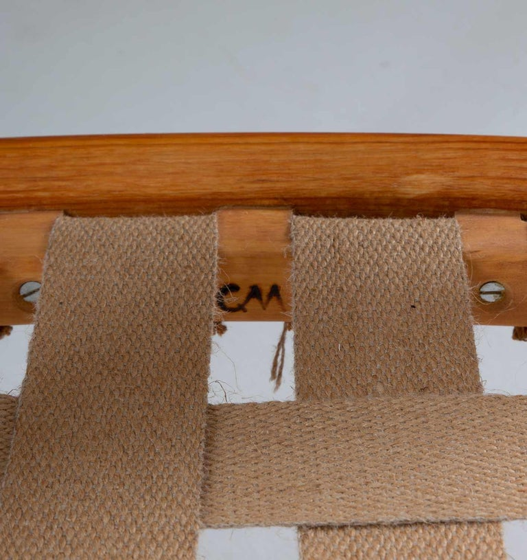 Pair of Scandinavian Midcentury Lounge Chairs by Carl Malmsten For Sale 5