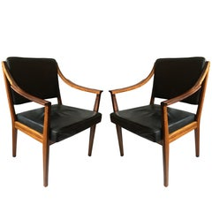 Pair of Scandinavian Midcentury Armchairs
