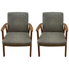 Pair of Scandinavian Modern Occasional Chairs