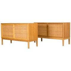 Pair of Scandinavian Modern Sideboards by Alf Svensson