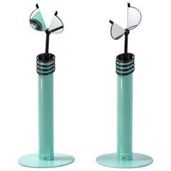 """Pair of Scandinavian Modern Table Lamps """"Skarabé"""" for Ateljé Lyktan, Sweden"""