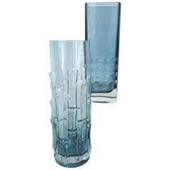 Pair of Scandinavian Modern Vases Emile Funk-Gralglas and Bo Borgstrom Aseda