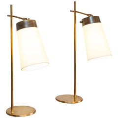 Pair of Scandinavian Table lamps, circa 1950