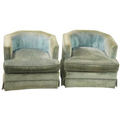 Pair of Schoonbeck Henredon Swivel Chairs