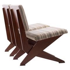 Pair of Scissor Chairs