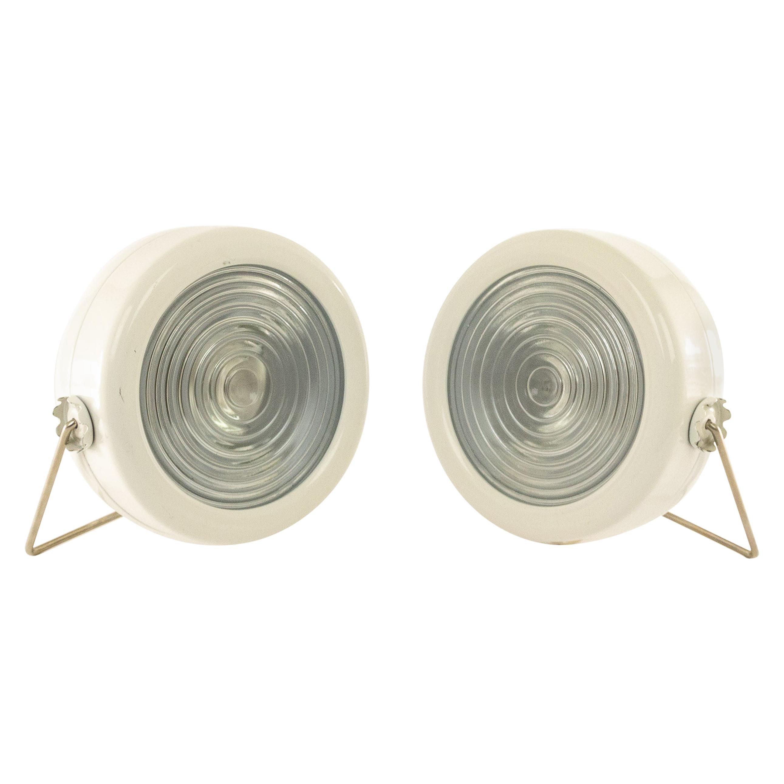 Pair of Sciuko Table Lamps by Achille & Pier Giacomo Castiglioni for Flos, 1966