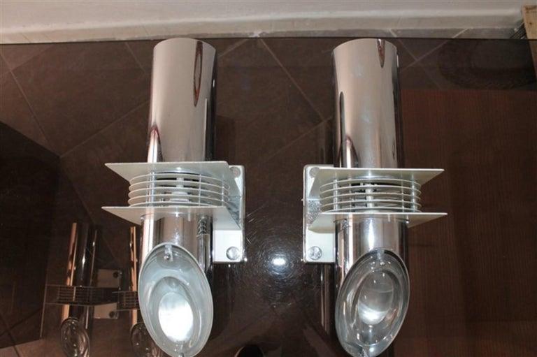 Italian Pair of Sconces 1970s Stilkronen Design Oscar Torlasco For Sale