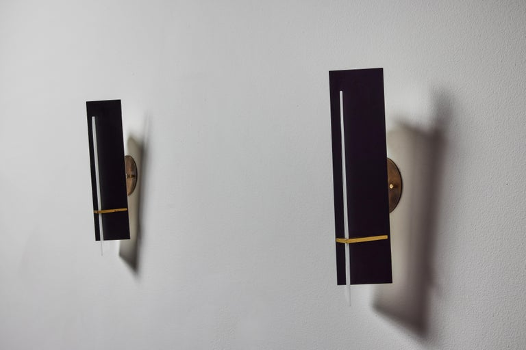 Pair of Sconces by Angelo Brotto for Esperia For Sale 4