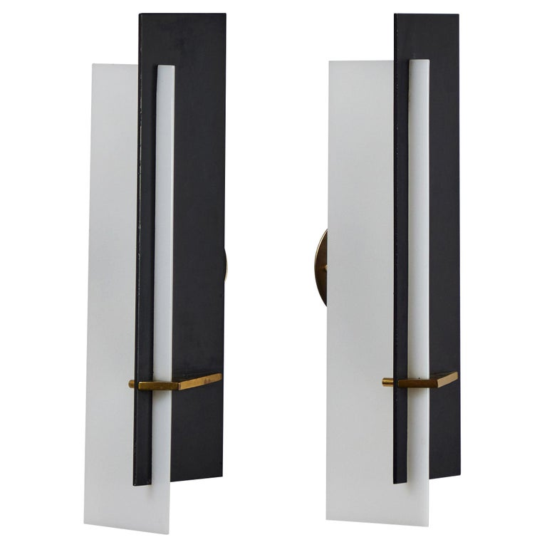 Pair of Sconces by Angelo Brotto for Esperia For Sale