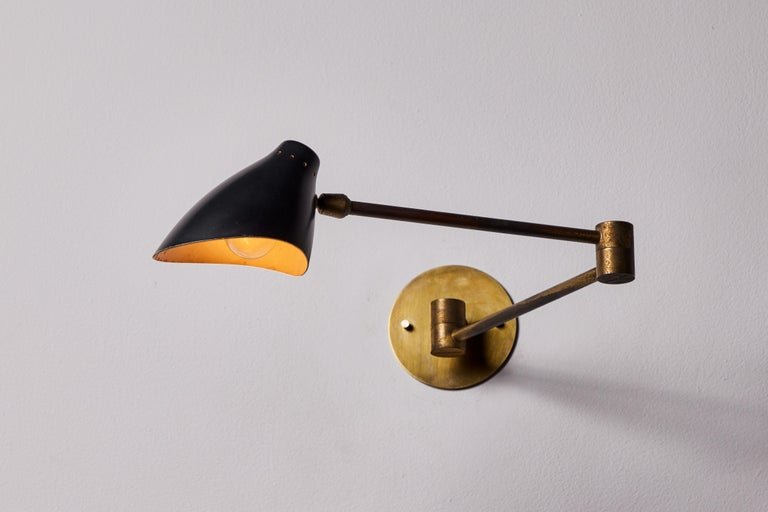 Pair of Sconces by Angelo Lelli In Good Condition For Sale In Los Angeles, CA