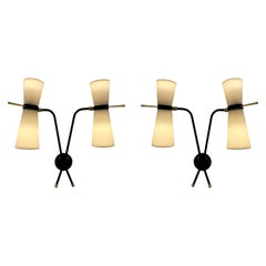 Pair of Sconces by Arlus, 1950-1960