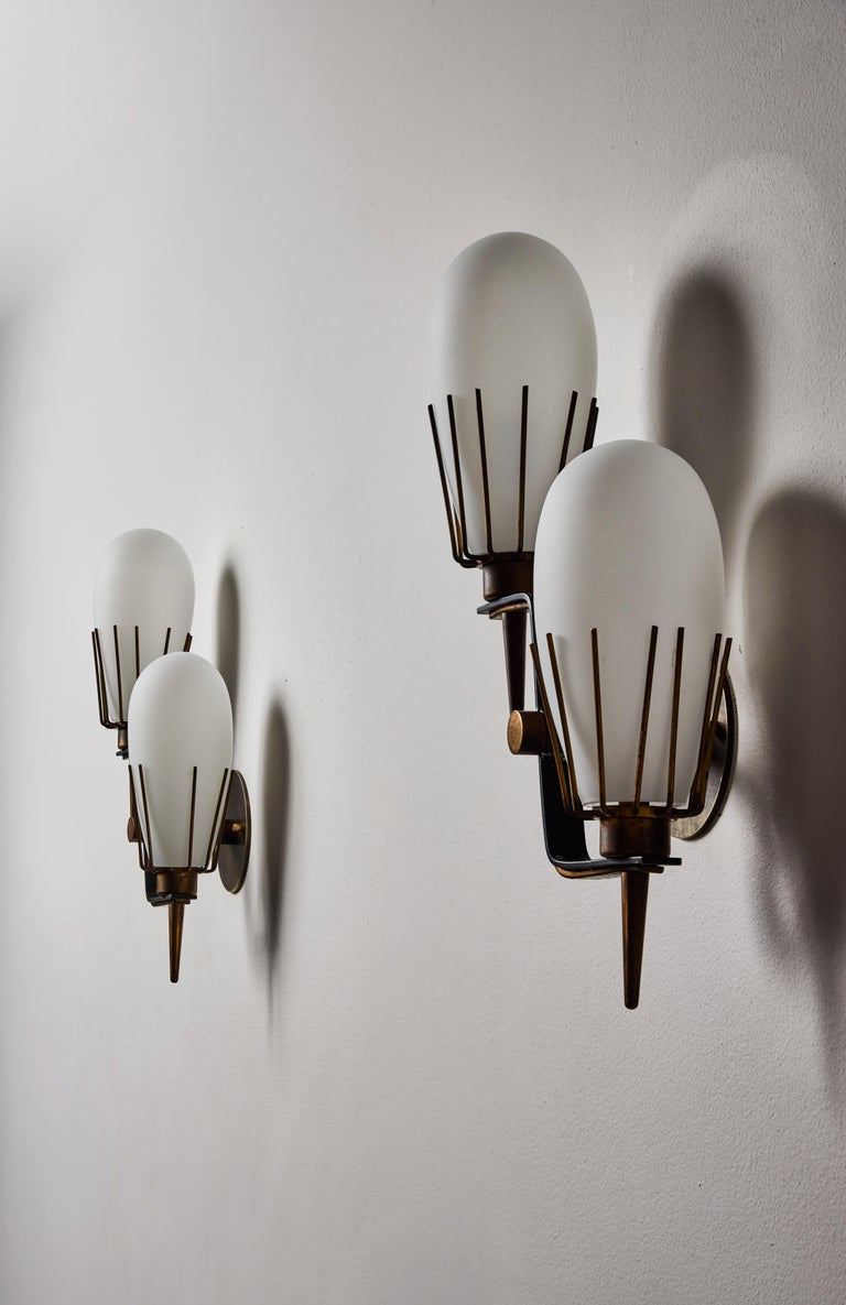 Pair of Sconces by Arredoluce 3