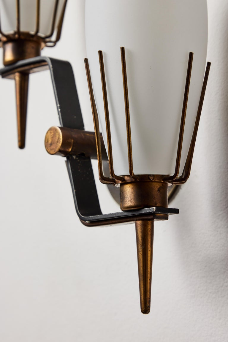 Pair of Sconces by Arredoluce 4