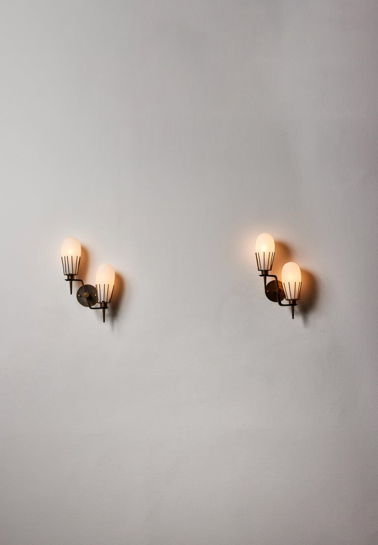 Mid-Century Modern Pair of Sconces by Arredoluce