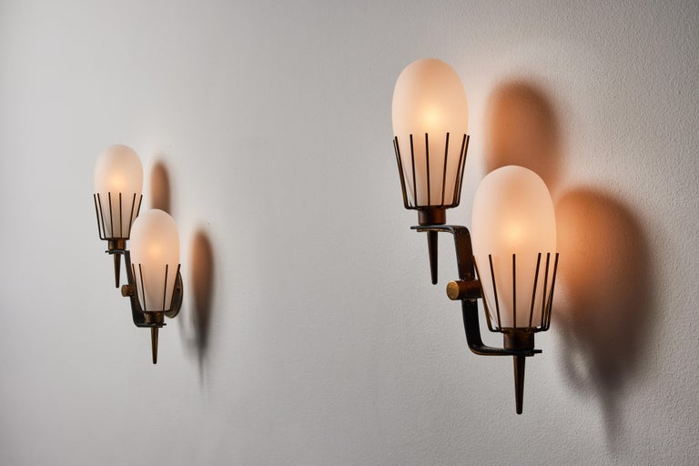 Mid-20th Century Pair of Sconces by Arredoluce