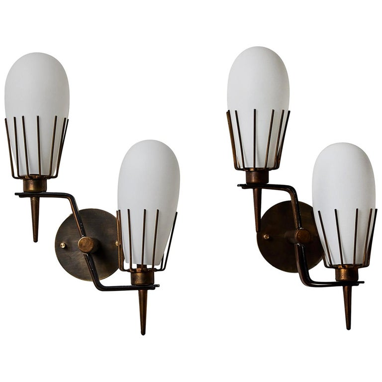 Pair of Sconces by Arredoluce