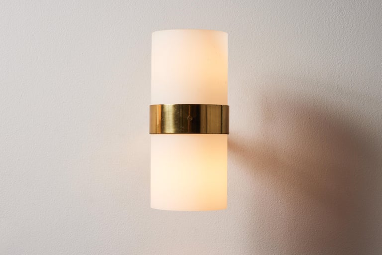 Mid-Century Modern Pair of Sconces by Candle