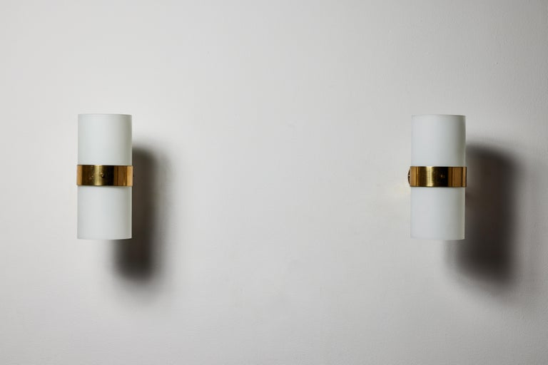 Italian Pair of Sconces by Candle